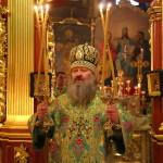 В день пам'яті прп. Паїсія митрополит Павел звершив Літургію