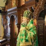 Намісник Лаври очолив богослужіння в день пам'яті прп. Сави Освяченого