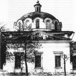 Ольгинская церковь на Печерске, где служила лаврская братия после закрытия монастыря. Взорвана в 30-е годы