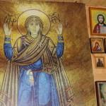 В реабилитационный центр для незрячих передана икона святых страстотерпцев