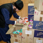 "Kids continue receiving Lavra's presents ""from St.Nicolas"""