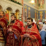 Митрополит Павел сослужил Предстоятелю УПЦ в храме св. вмц. Варвары