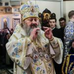 В день Собора Пресвятой Богородицы митрополит Павел сослужил Предстоятелю УПЦ