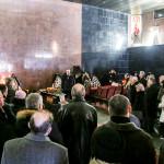 В отпевании архитектора восстановленного Успенского собора Лавры участвовали братия обители