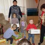 Братия отдела соцслужения навестили воспитанников детского учреждения