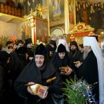 Наместник и братия поздравили Священноархимандрита Лавры с Рождеством Христовым