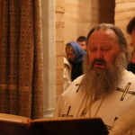Литургию в Иоанно-Предтеченском приделе совершил Наместник Лавры