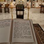 Наместник Лавры прочел Покаянный канон в скиту обители