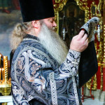 Metropolitan Pavel performed Liturgy of the Presanctified Gifts and moleben to Great Martyr Theodore