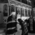 Намісник Лаври прочитав Покаянний канон в скиту обителі