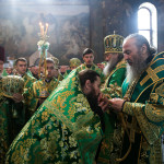 The solemnities of the Synaxis of venerable fathers of Caves Pechersk monastary