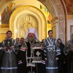 Митрополит Павел звершив Пасію зі співом Акафісту Страстям Христовим