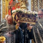 В Лавре совершено богослужение выноса Плащаницы