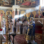 Divine services on the Great Saturday and the feast of Annunciation