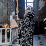 Наместник Лавры совершил Литургию в Великий Вторник