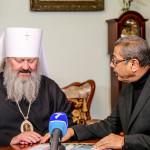 Митрополит Павел провів зустріч з кардіохірургом з Індії