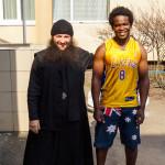 Brethren visited kids in children's distribution center of Kiev city