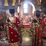 Владыка Павел завершил богослужения Пасхальной седмицы