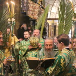 Entry of Our Lord into Jerusalem. Palm Sunday