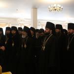 Братия Лавры поздравили Священноначалие с Днем Пасхи