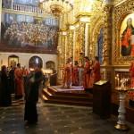Первое в этом году акафистное пение Воскресению Христову возглавил митрополит Павел