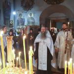 В отпевании игуменьи Антонии (Филькиной) участвовал митрополит Павел