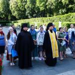 Молодежная встреча была посвящена Дню Победы