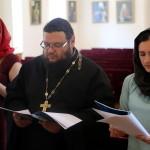 Молодежная встреча была посвящена Неделе Всех святых