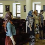 На «молодежке» молились о тезоименитом Предстоятеле