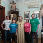 Наместник Лавры побеседовал с будущим параолимпийцем Колей Нижниковским