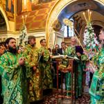 В день небесного покровителя Предстоятель УПЦ возглавил Литургию в Великой церкви Лавры