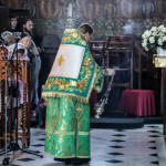 Намісник Лаври очолив Літургію в день пам'яті прп. Агапіта Печерського