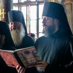 Всенічне бдіння напередодні дня пам'яті прп. Агапіта очолив митрополит Павел