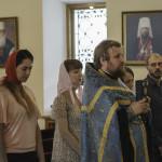 Владыку Наместника поздравляли с именинами на «молодежке»