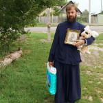 Братія соцвідділу Лаври побували у підопічних із сіл Макарівського р-ну