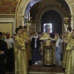 Предстоятель возглавил богослужения Недели 8-й по Пятидесятнице