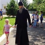 Братія Лаври відвідали дитячий розподільник села Копилов