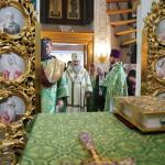 Намісник Лаври очолив Літургію в храмі Прп. Сергія Радонезького
