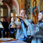 Владыка Павел совершил Литургию в праздник Тихвинской иконы Божией Матери