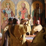 The seventh Sunday after Pentecost: The Placing of the Honorable Robe of the Most Holy Mother of God at Blachernae