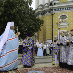The solemnities on the main Lavra's altar feast