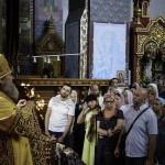 Литургию в Пантелеимоновском монастыре г. Киева возглавил Наместник Лавры