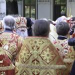 Во Флоровском монастыре Наместник Лавры сослужил Предстоятелю