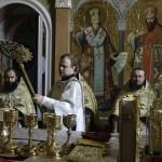 Предстоятель УПЦ возглавил Литургию в день отдания праздника Преображения Господня
