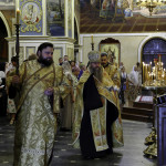 The celebrations dedicated to anniversary of enthronement of the Head of UOC Metropolitan Onuphrius took place at the Lavra