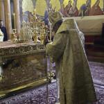 У річницю інтронізації Його Блаженства Предстоятель УПЦ очолив богослужіння в Лаврі