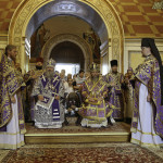 Metropolitan Pavel performed the Divine services on the Procession of the Honorable and Life-giving Cross feast