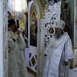 Наместник обители совершил заупокойные богослужения в лаврском скиту