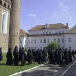 Братия на конференции в Супрасльской Лавре