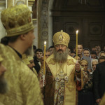 Head of UOC Metropolitan Onuphrius led services on 16th Sunday after Pentecost at the Lavra
